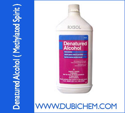 Denatured Alcohol ( Methylated Spirit ) | DUBI CHEM