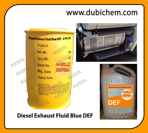 Diesel Exhaust Fluid Blue DEF | DUBI CHEM