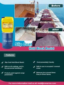 Marine slip coat Hold Block