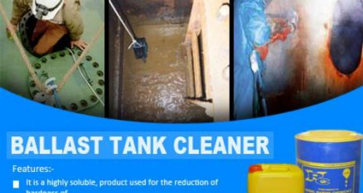 Ship Ballast Tank cleaner